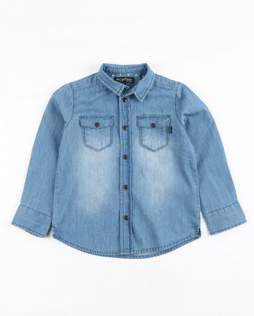 Verwassen jeanshemd - Katja Retsin - JBC